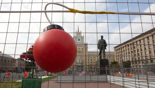 Триумфальная площадь закрыта на реконструкцию