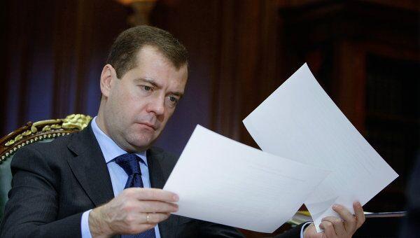 Медведев не исключает акционирования госкорпораций