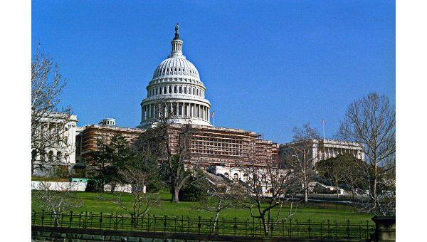 Капитолий в Вашингтоне. Архив