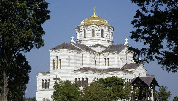 Владимирский собор в Херсонесе (Севастополь). Архив