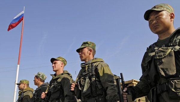 Российские военные в Абхазии. Архив