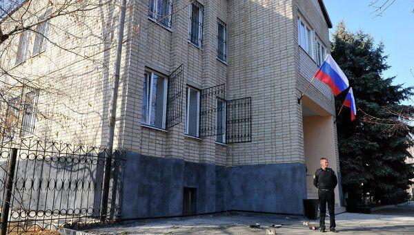 Здание суда станицы Кущевская Краснодарского края. Архивное фото