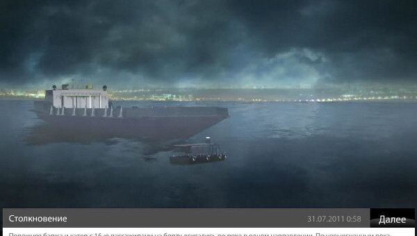 Реконструкция прогулочного катера на Москва-реке