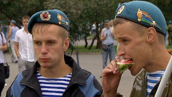 День ВДВ в Парке Горького в этом году отмечают без алкоголя