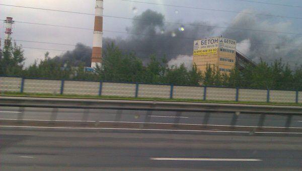Пожар на ТЭЦ-27