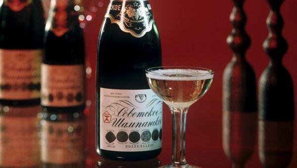 Советское шампанское. Архивное фото