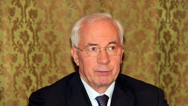 Премьер Украины Николай Азаров. Архив
