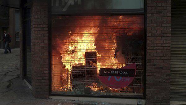 Беспорядки в Манчестере, Великобритания. 9 августа 2011 года