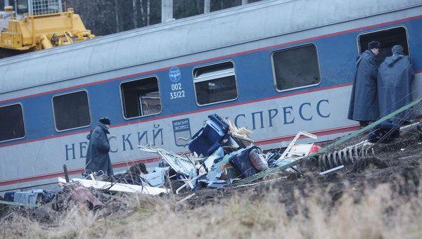 У МВД есть информация о людях, возможно, причастных к подрыву поезда