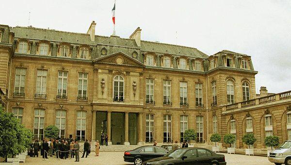 Елисейский дворец в Париже. Архив