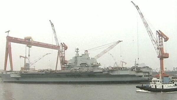 Китайский авианосец может встать на службу в течение 10 лет – эксперт