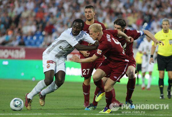 Игровой момент матча Рубин - ЦСКА