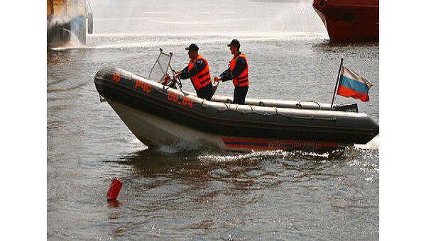 Теплоход затонул во время шторма под Норильском