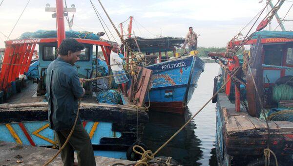 Рыбаки в Тамилнаде на юге Индии. Архивное фото