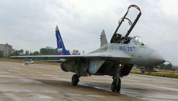 <p>Самолет МиГ-35.</p>