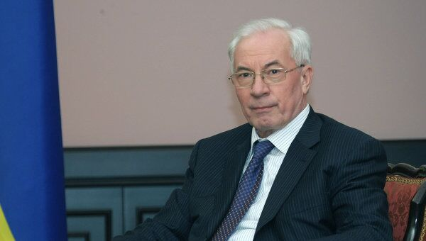 Глава правительства Украины Николай Азаров