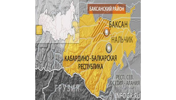 Автобус с туристами из Москвы обстрелян в Кабардино-Балкарии, три человека погибли
