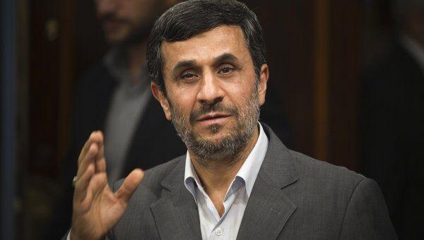Бывший президент Ирана Махмуд Ахмадинежад. Архивное фото