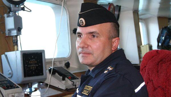 Командир ТАВКР «Адмирал Кузнецов» Сергей Артамонов