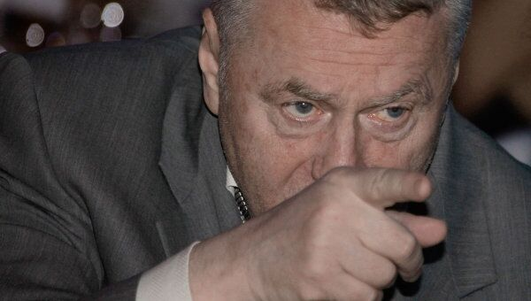 Лидер ЛДПР Владимир Жириновский. Архив