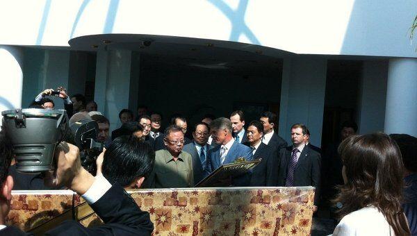 Визит Ким Чен Ира в Приамурье