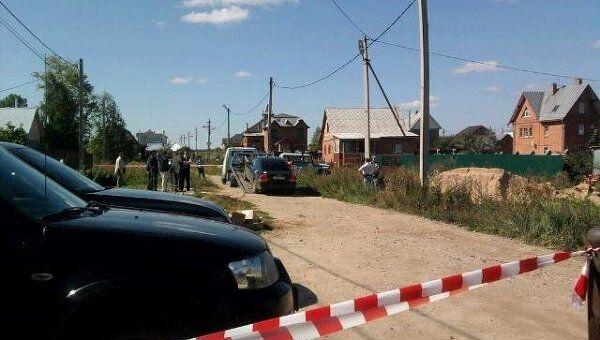 Автомобиль Volvo убитого мэра Евгения Душко