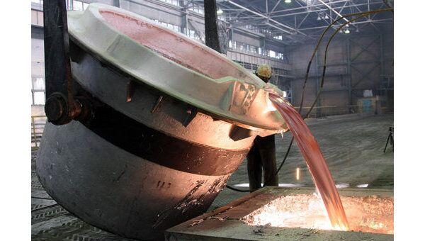 Красноярский алюминиевый завод (ОАО КрАЗ). Архивное фото