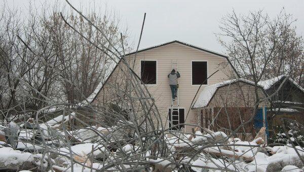 Снос домов в поселке Речник