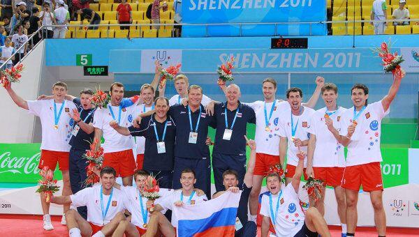 Студенческая сборная России по волейболу