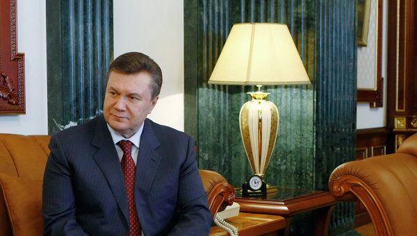 Президент Украины Виктор Янукович встретился с Богданом Ступкой