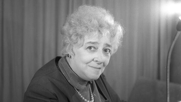 Артистка Фаина Раневская. Архивное фото