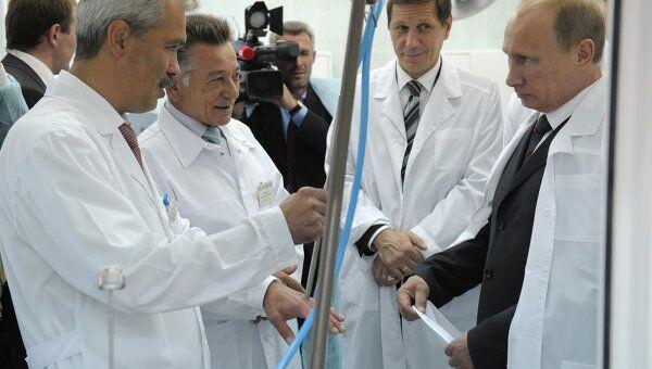 Посещение В. Путиным Смоленской областной клинической больницы