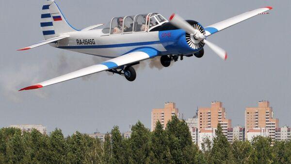 Самолет Як-52. Архивное фото