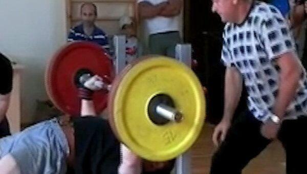 Чемпионат по русскому жиму штанги прошел в Бресте