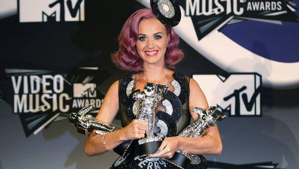 Певица Кэти Перри на вручении наград MTV Video Music Awards