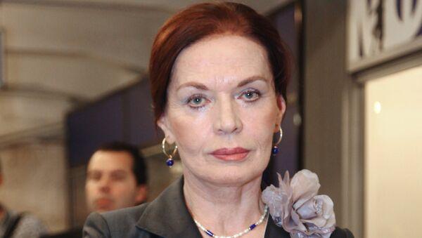 Актриса Людмила Чурсина. Архивное фото