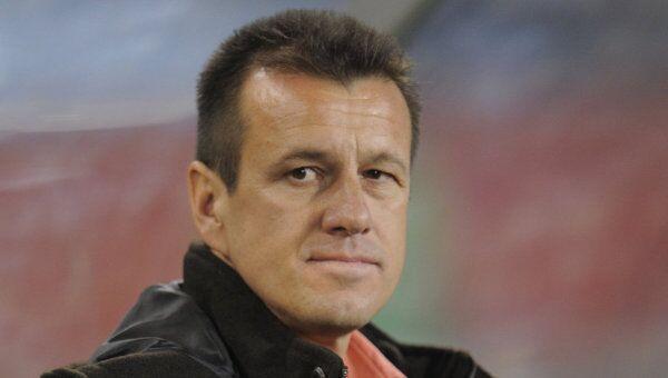 Тренер сборной Бразилии по футболу Дунга