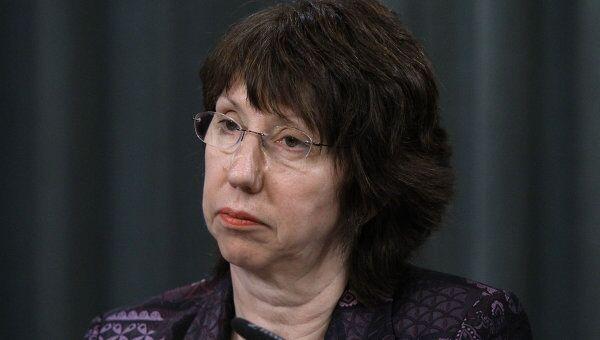 Верховный представитель ЕС по иностранным делам и политике безопасности Кэтрин Эштон. Архив