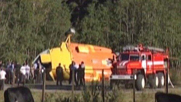 Падение вертолета Ми-8 в Карачаево-Черкесии. Видео очевидца