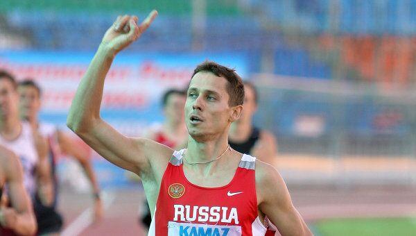 Юрий Борзаковский выиграл забег на 800 метров на Moscow Open