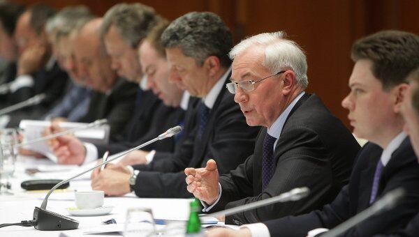 Заседание Комитета по вопросам экономического сотрудничества российско-украинской межгосударственной комиссии. Архив