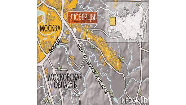 Люберцы. Карта