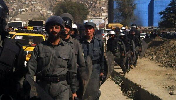 Подразделения быстрого реагирования полиции Кабула