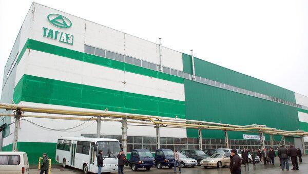 Таганрогский автомобильный завод в Ростовской области, архивное фото