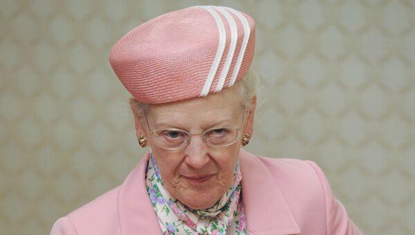 Королева Дании Маргрете II. Архивное фото