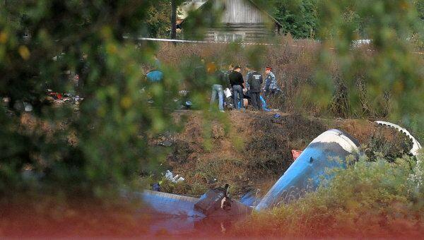 Крушение самолета Як-42 под Ярославлем