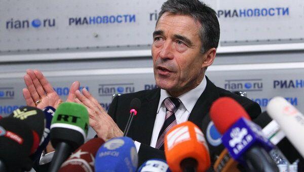 Пресс-конференция на тему: Россия-НАТО: перспективы сотрудничества