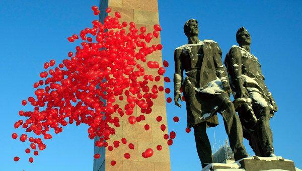 Акция в день освобождения Ленинграда от фашисткой блокады
