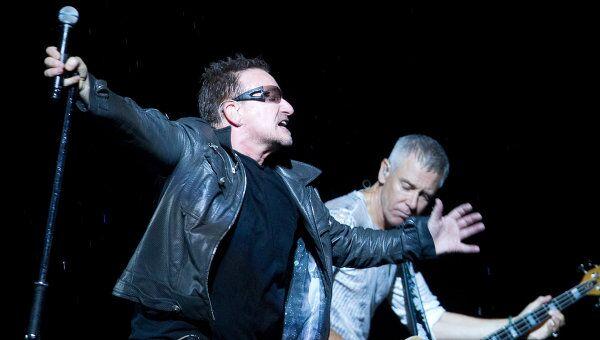 Концерт ирландской группы U2 в рамках мирового тура 360 Degree. Архивное фото