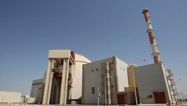 Первый энергоблок атомной электростанции Бушер в Иране. Архив